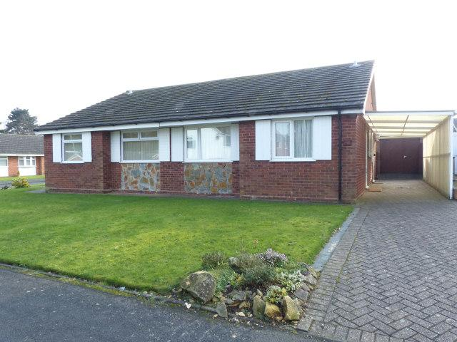 2 Bedrooms Semi Detached Bungalow for sale in Larchwood Crescent,Streetly,Sutton Coldfield