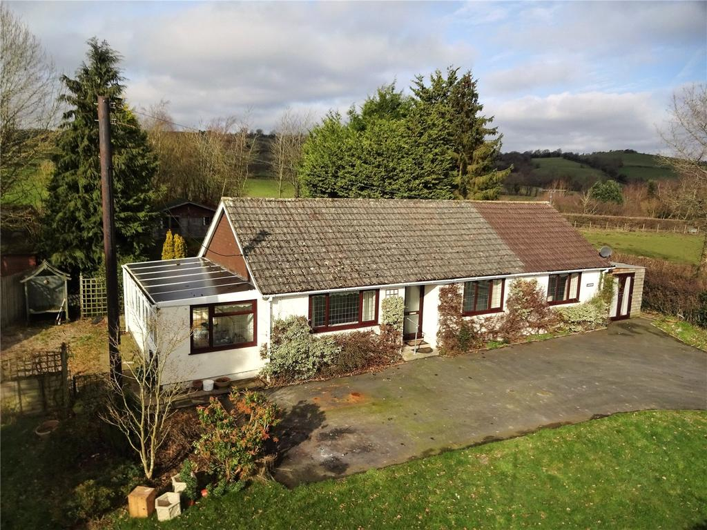 3 Bedrooms Detached Bungalow for sale in Rhosgoch, Builth Wells, Powys