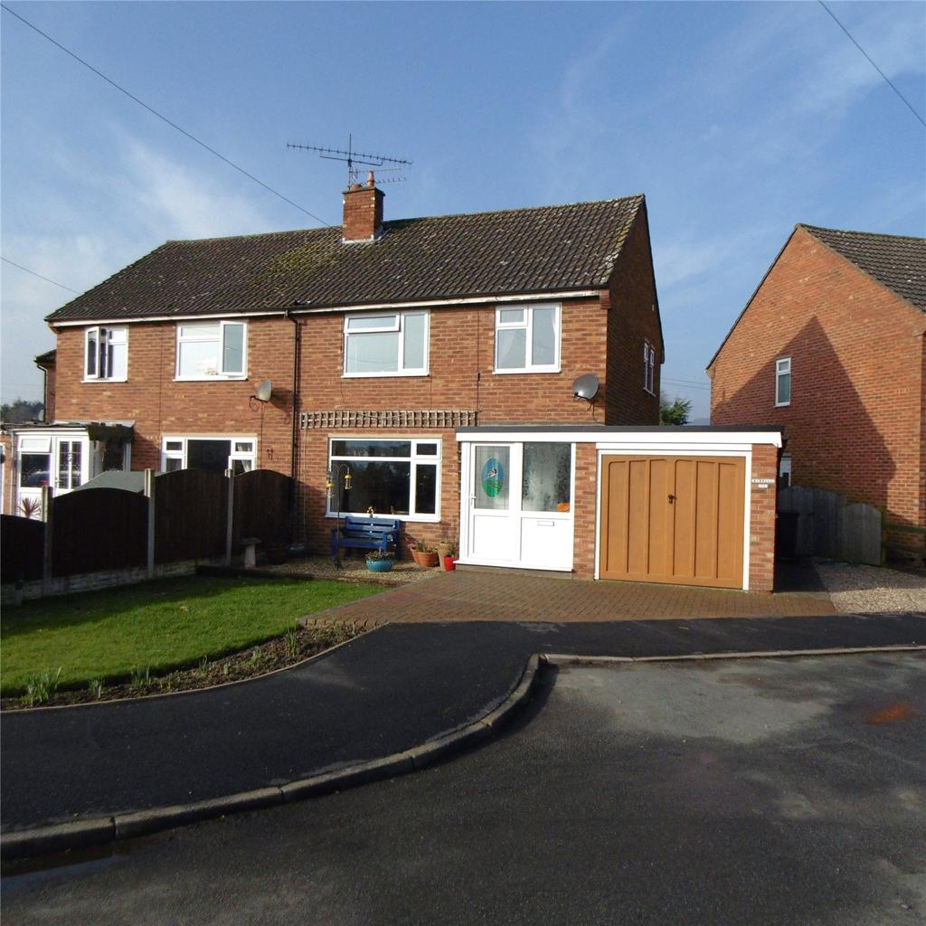 3 Bedrooms Semi Detached House for sale in St Johns Crescent, Craven Arms, Shropshire