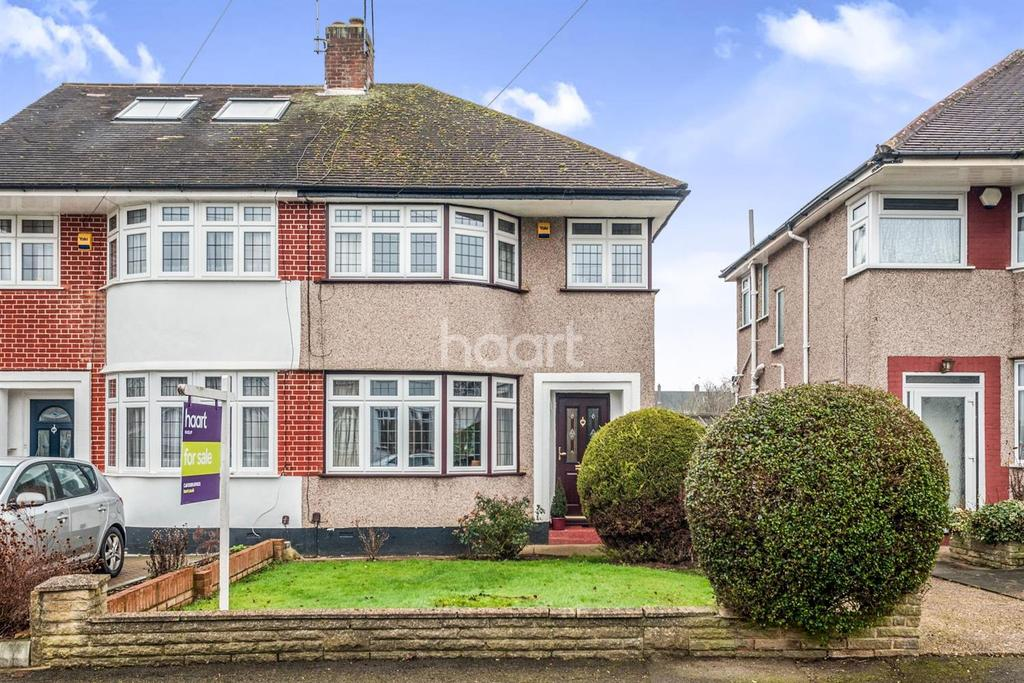 3 Bedrooms Semi Detached House for sale in Pavilion Way, Ruislip