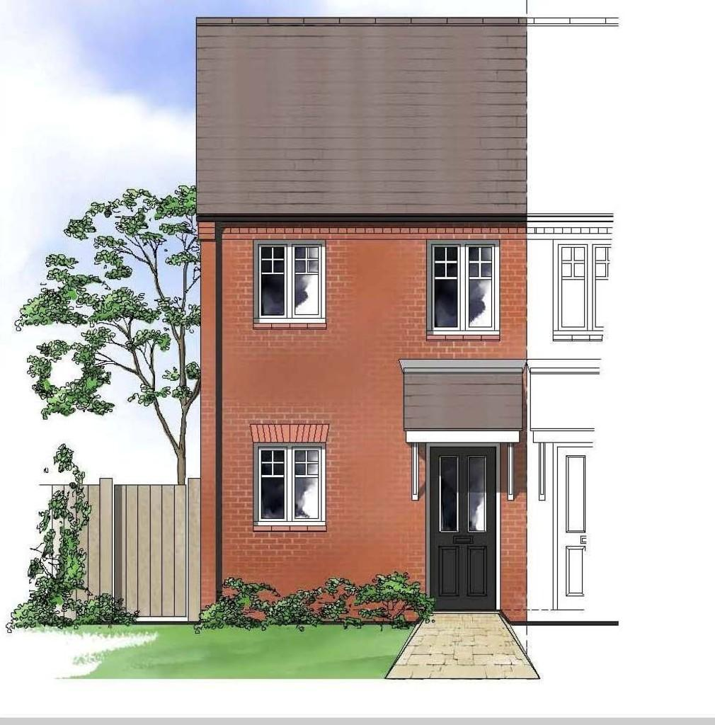2 Bedrooms Mews House for sale in Barley Fields, off Ashby Road, Tamworth