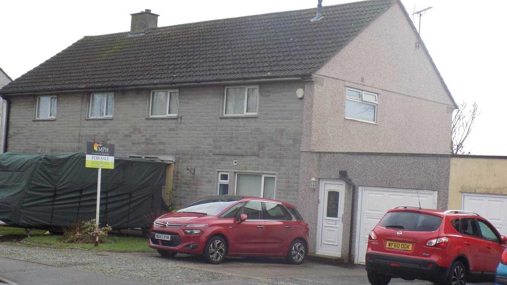 3 Bedrooms Semi Detached House for sale in Trevol Place, Torpoint