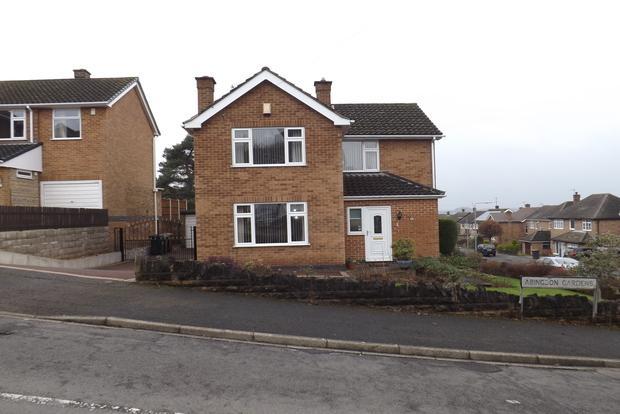 3 Bedrooms Detached House for sale in Abingdon Gardens, Woodthorpe, Nottingham, NG5