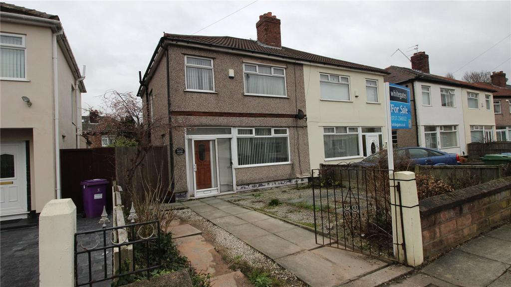 3 Bedrooms Semi Detached House for sale in Eaton Close, West Derby, Liverpool, Merseyside, L12