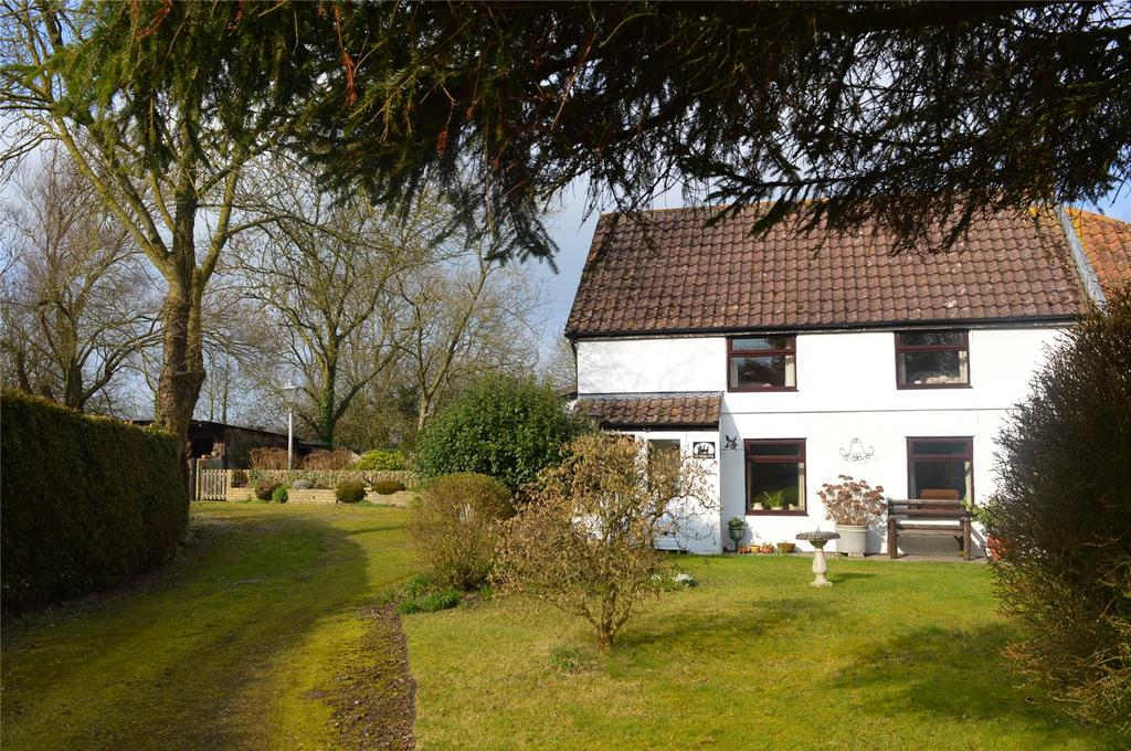 3 Bedrooms House for sale in Webbers Cottages, Southwick Road, Mark, Somerset, TA9