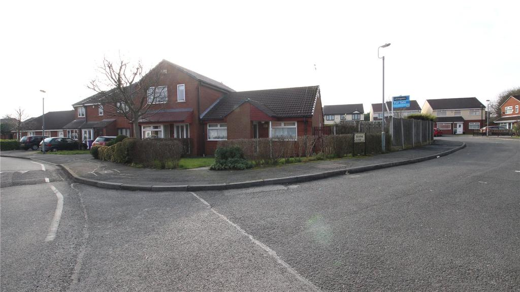 2 Bedrooms Semi Detached Bungalow for sale in Dearne Close, Liverpool, Merseyside, L12