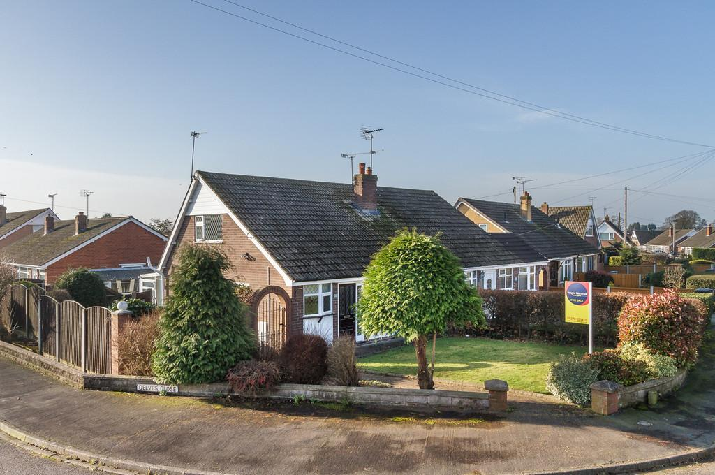 2 Bedrooms Semi Detached Bungalow for sale in Shavington, Cheshire