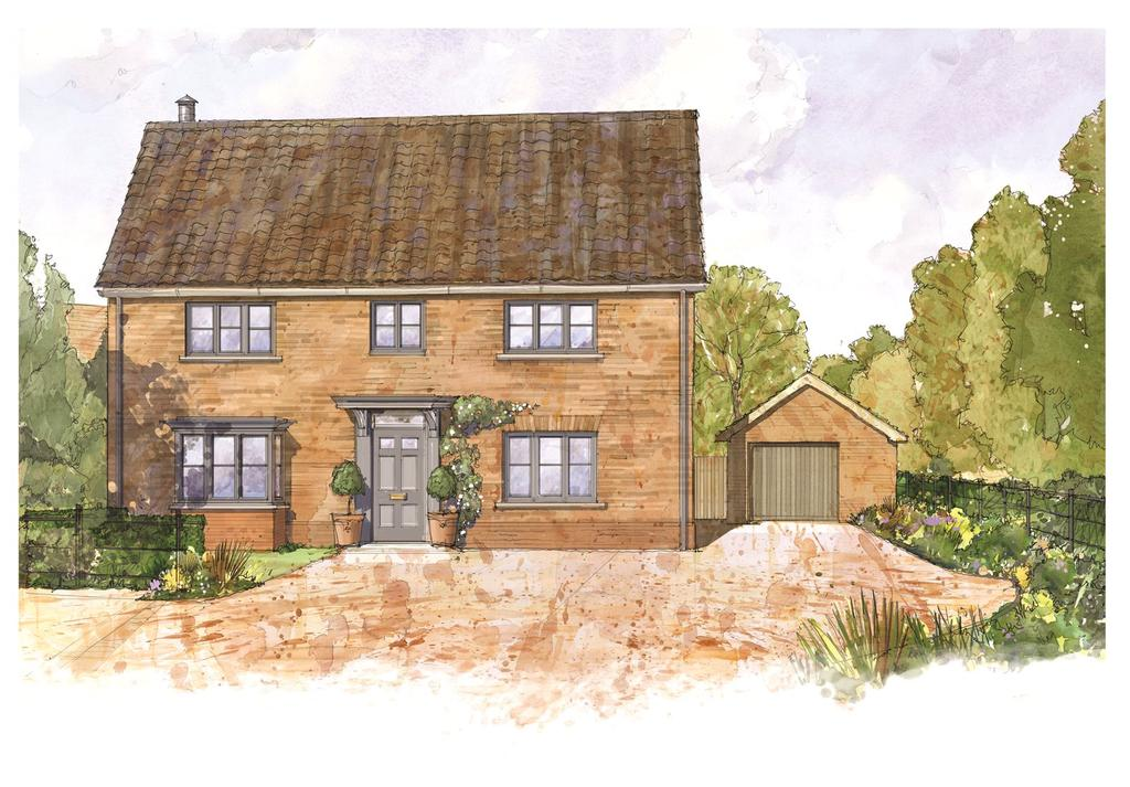 3 Bedrooms Detached House for sale in Church Road, Risby, Nr. Bury St Edmunds, Suffolk, IP28