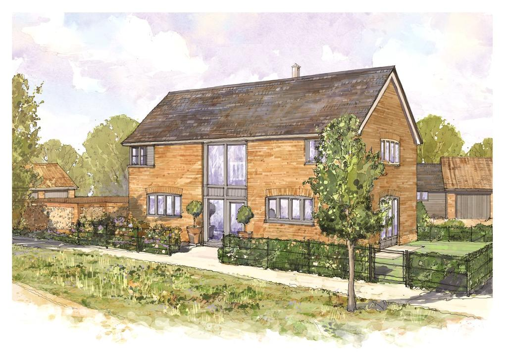 4 Bedrooms Semi Detached House for sale in Church Road, Risby, Nr. Bury St Edmunds, Suffolk, IP28