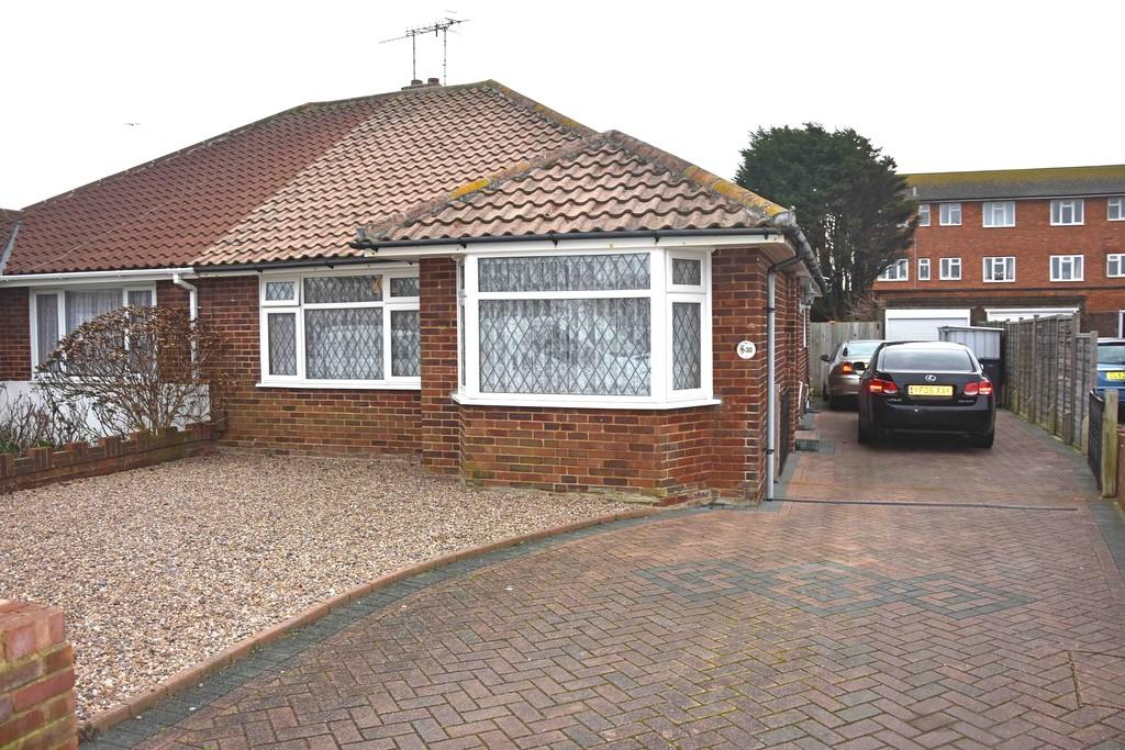 2 Bedrooms Semi Detached Bungalow for sale in Devonport Road, Worthing