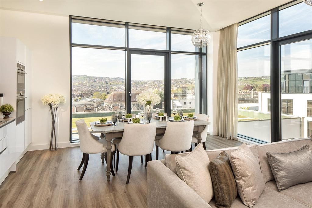 2 Bedrooms Penthouse Flat for sale in Leopold House, Bath Riverside, BA2