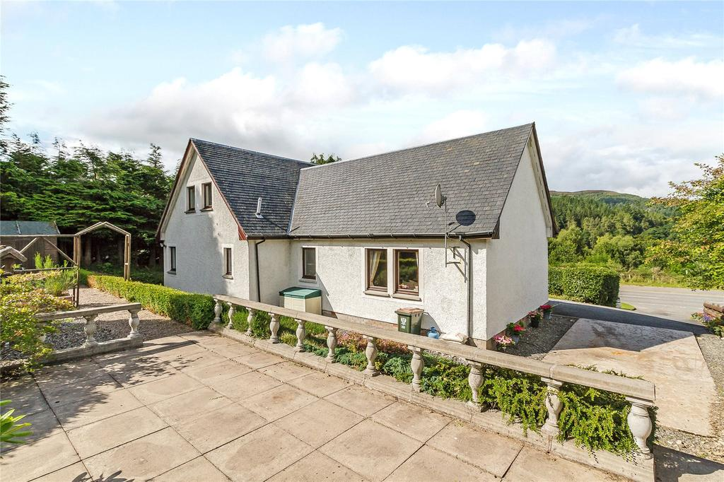 4 Bedrooms Detached House for sale in Tighsith, Faskally, Pitlochry, Perthshire, PH16