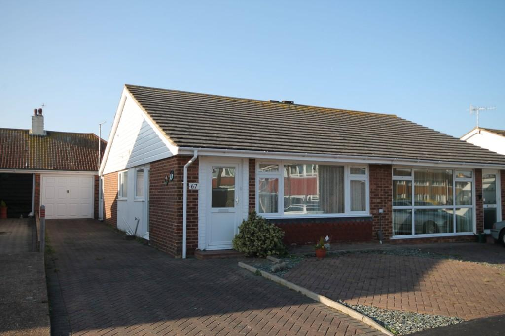 2 Bedrooms Semi Detached Bungalow for sale in Brook Way, Lancing, BN15