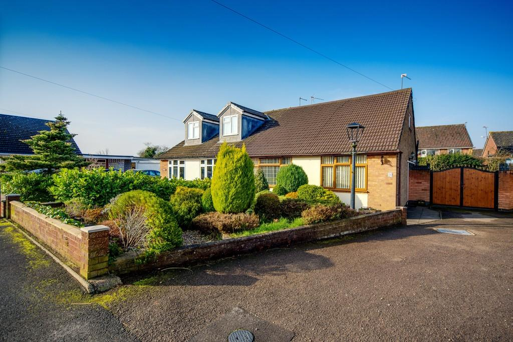 2 Bedrooms Semi Detached Bungalow for sale in Pinewood Drive, Binley Woods