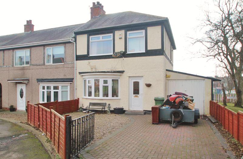 3 Bedrooms Semi Detached House for sale in Wooler Crescent, Billingham