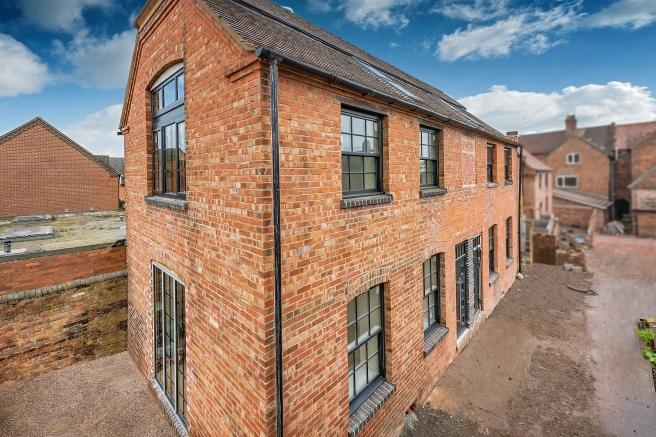 2 Bedrooms Terraced House for sale in The Old Print Works, Plots 3 and 4 Off High Street, Newport, Shropshire, TF10 7AT