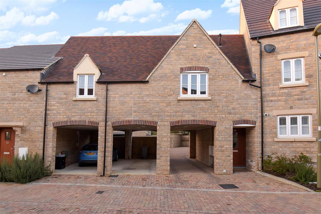 2 Bedrooms Terraced House for sale in Carriage Crescent, Witney