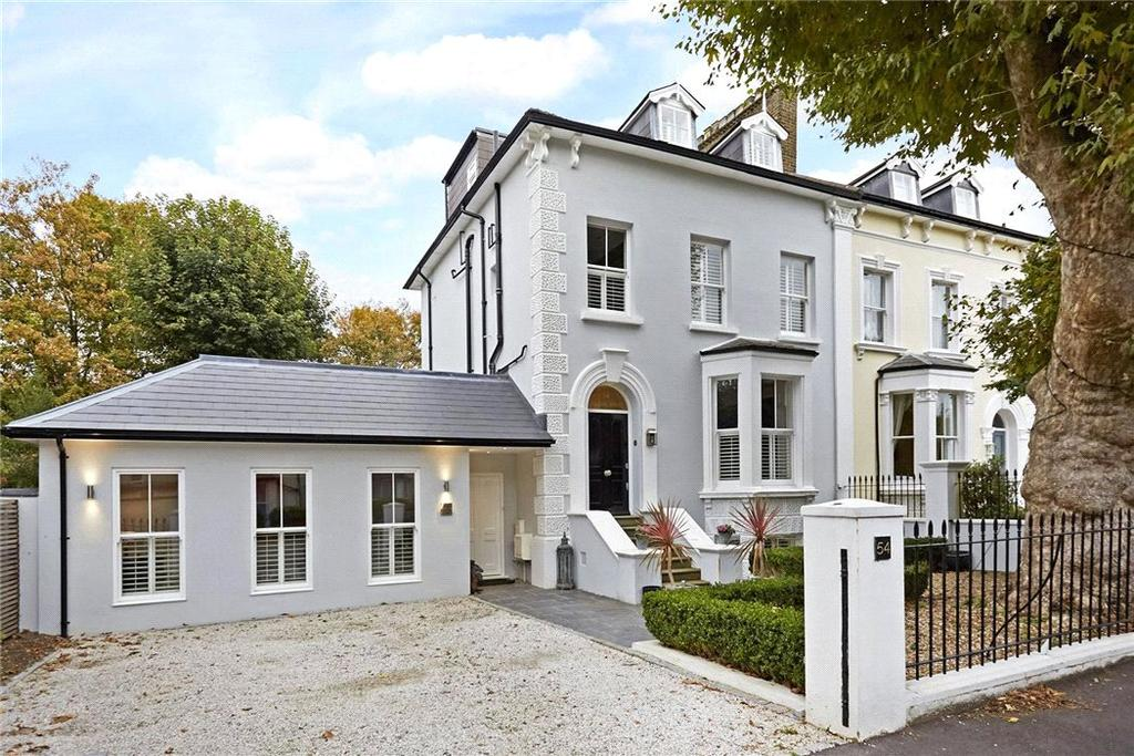 5 Bedrooms Semi Detached House for sale in Herne Road, Surbiton, KT6