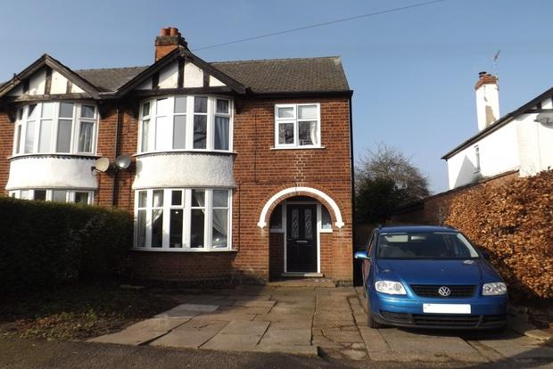 4 Bedrooms Semi Detached House for sale in Kenrick Road, Mapperley, Nottingham, NG3