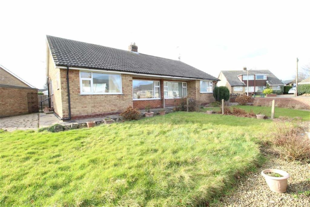 2 Bedrooms Semi Detached Bungalow for sale in Lodge Close, Cayton, North Yorkshire
