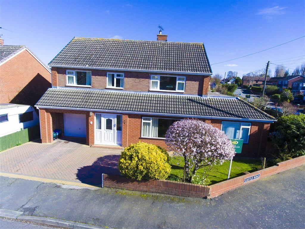5 Bedrooms Detached House for sale in Castle Road, Bayston Hill, Shrewsbury, Shropshire