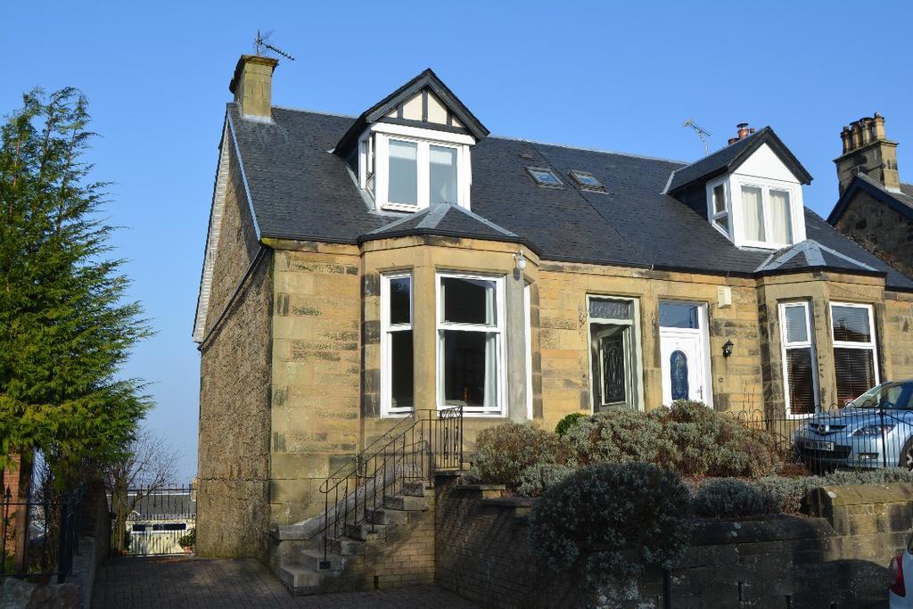 3 Bedrooms Semi Detached House for sale in Albert Road, Falkirk, Falkrik, FK1 5LS