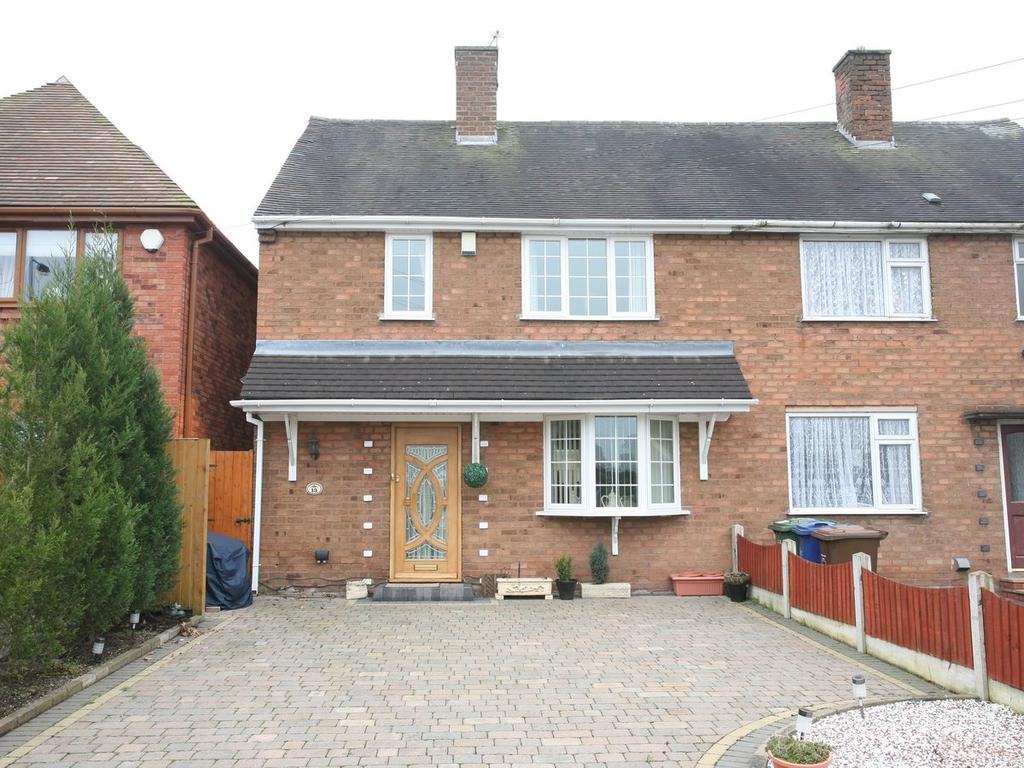 3 Bedrooms Semi Detached House for sale in 13 Bideford Way, Cannock, WS11 1QD