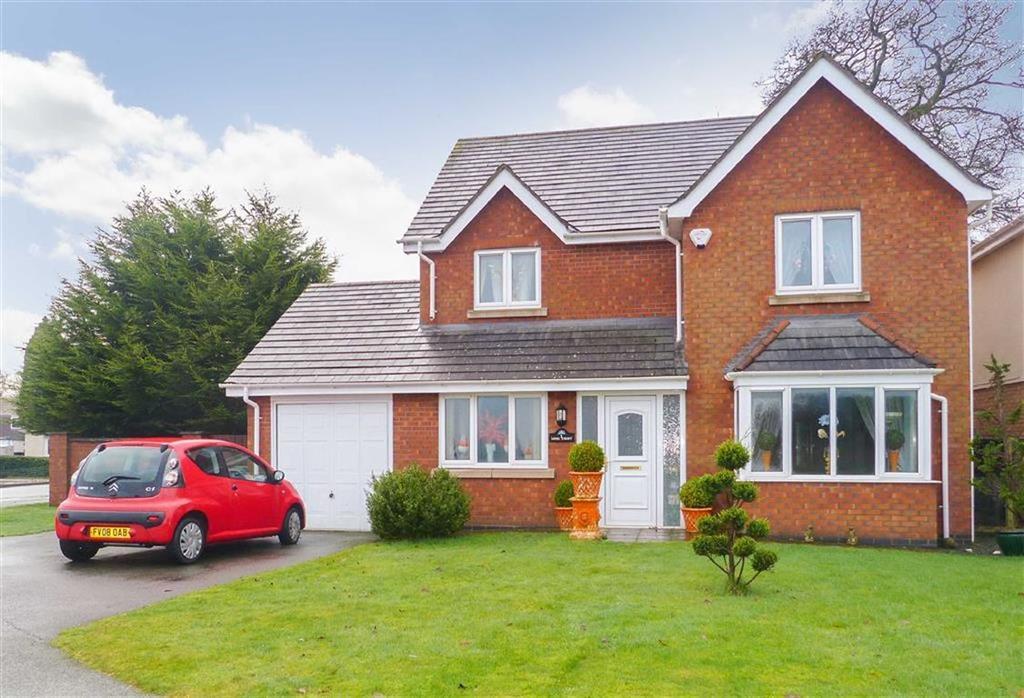 4 Bedrooms Detached House for sale in Long Croft, Weston Rhyn, Oswestry, SY10
