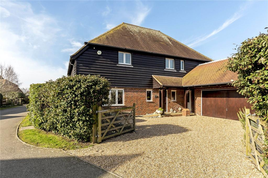 4 Bedrooms Detached House for sale in Bremere Lane, Highleigh, Chichester, West Sussex