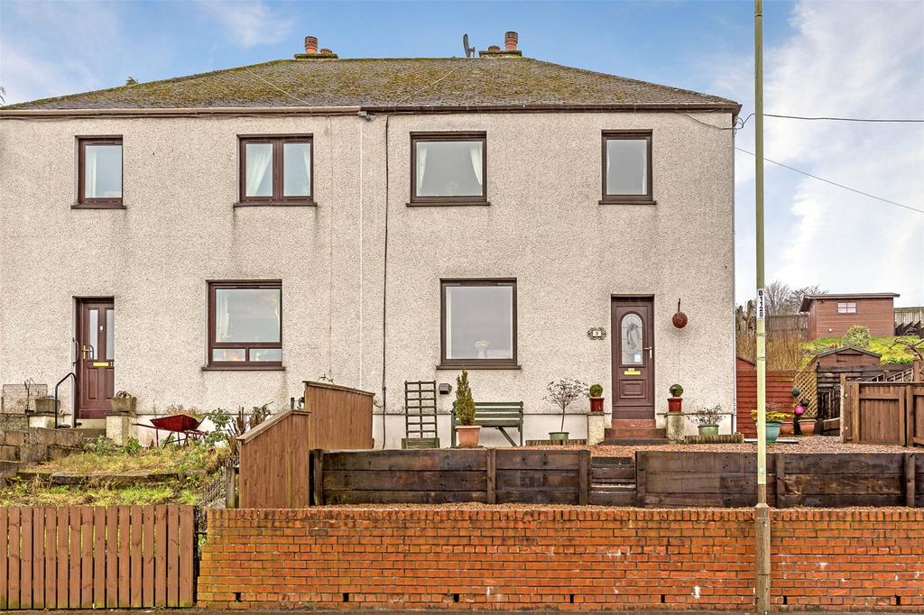 3 Bedrooms Semi Detached House for sale in 9 Glengarry Road, Perth, PH2