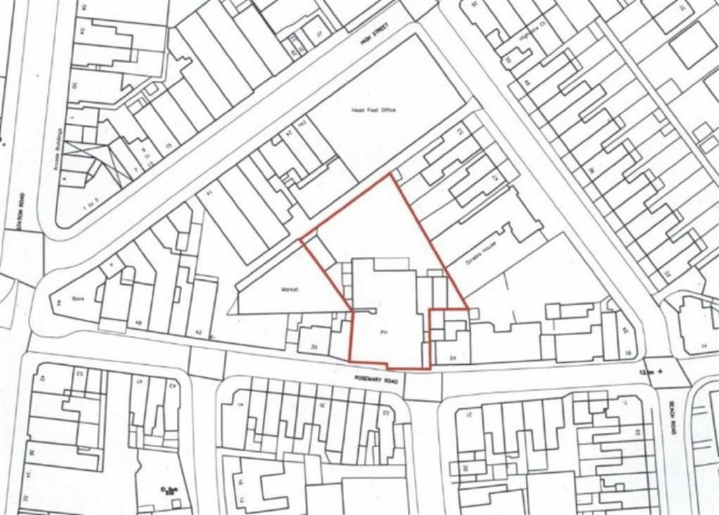 Land Commercial for sale in Rosemary Road, Clacton-on-Sea