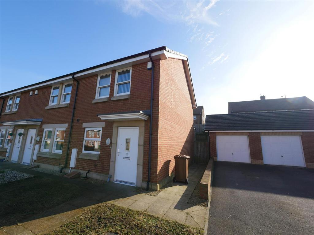 2 Bedrooms Terraced House for sale in Dartington Close, Sunderland