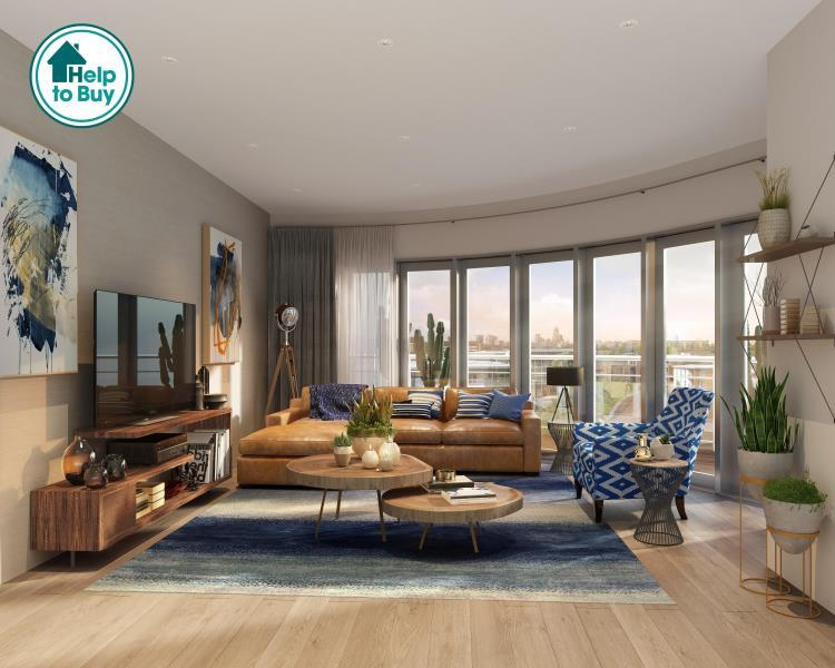 2 Bedrooms Apartment Flat for sale in 5 Sphere Apartments E3 4AG
