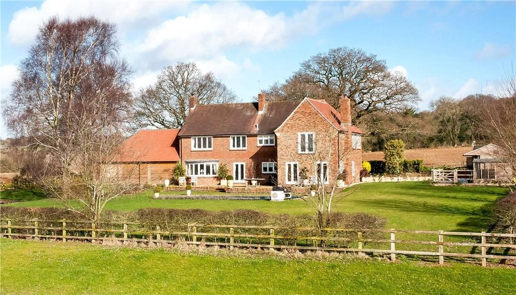 5 Bedrooms Detached House for sale in Cross Lane, Bishops Waltham, Southampton, Hampshire, SO32