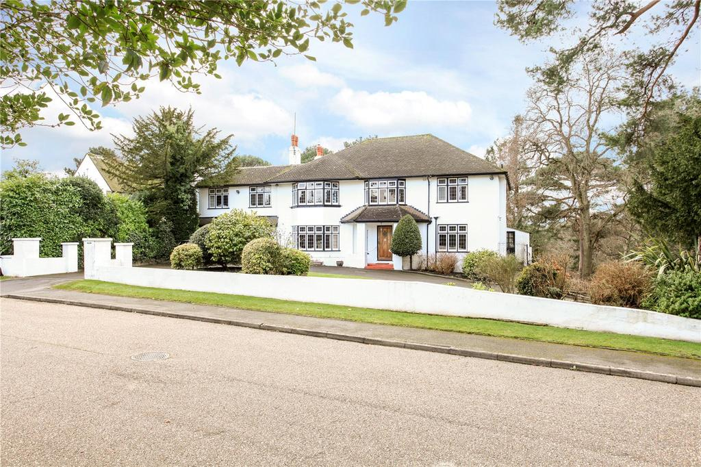 5 Bedrooms Detached House for sale in Buccleuch Road, Branksome Park, Poole, Dorset, BH13