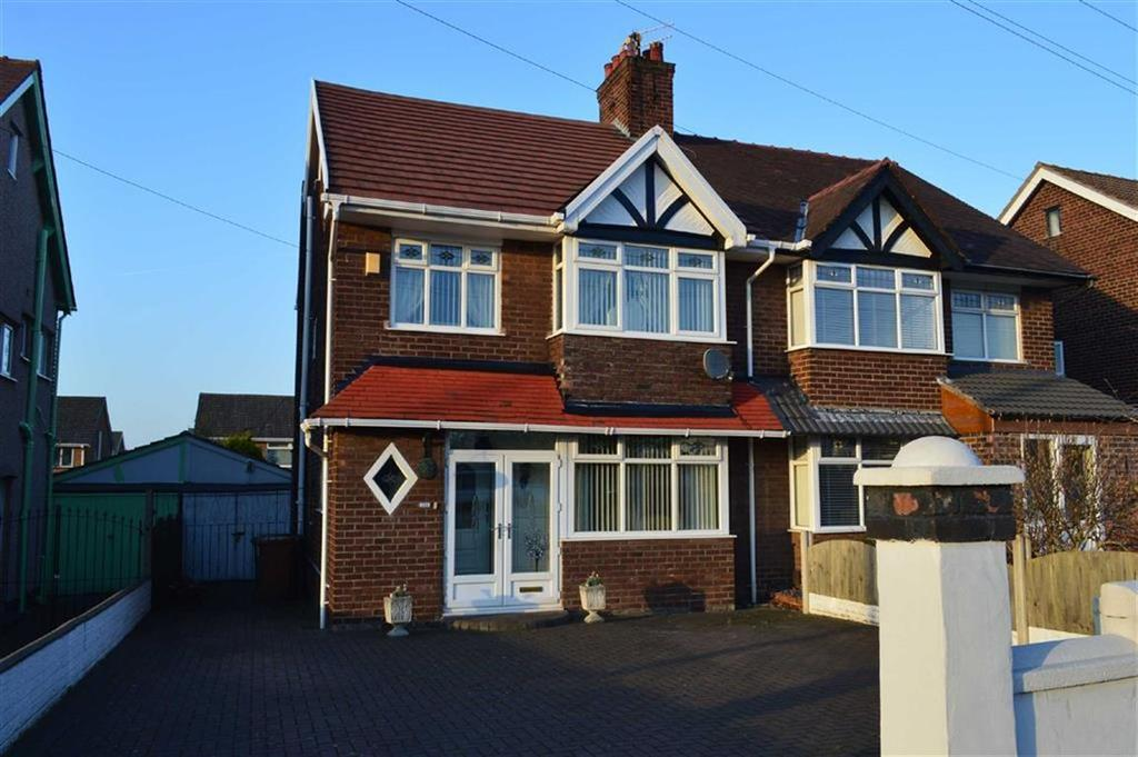 3 Bedrooms Semi Detached House for sale in Woodchurch Road, Prenton, CH42