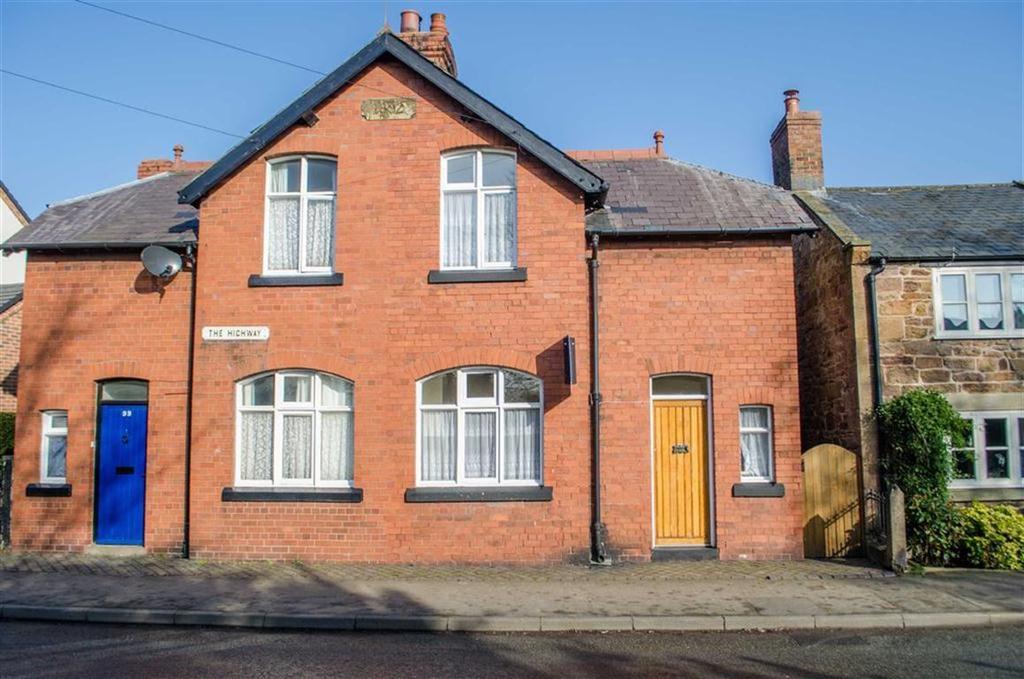 2 Bedrooms Semi Detached House for sale in The Highway, Hawarden, Flintshire, Hawarden, Flintshire