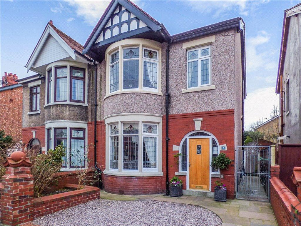 4 Bedrooms Semi Detached House for sale in Kirkstall Avenue, Blackpool, Lancashire