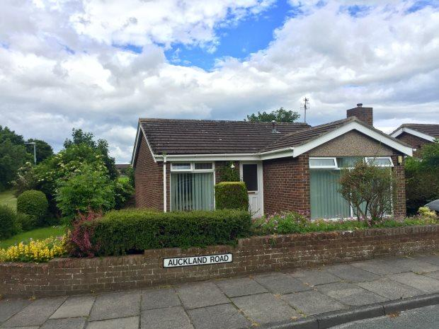 2 Bedrooms Detached Bungalow for sale in AUCKLAND ROAD, NEWTON HALL, DURHAM CITY