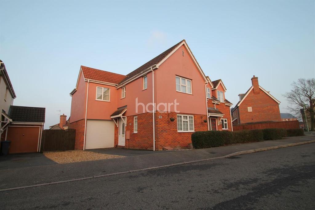 3 Bedrooms Semi Detached House for sale in Castle Brooks , Framlingham