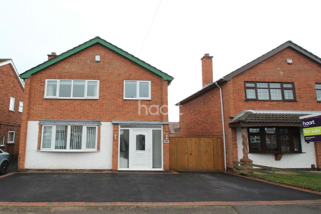 3 Bedrooms Detached House for sale in Ascot Drive, Hucknall