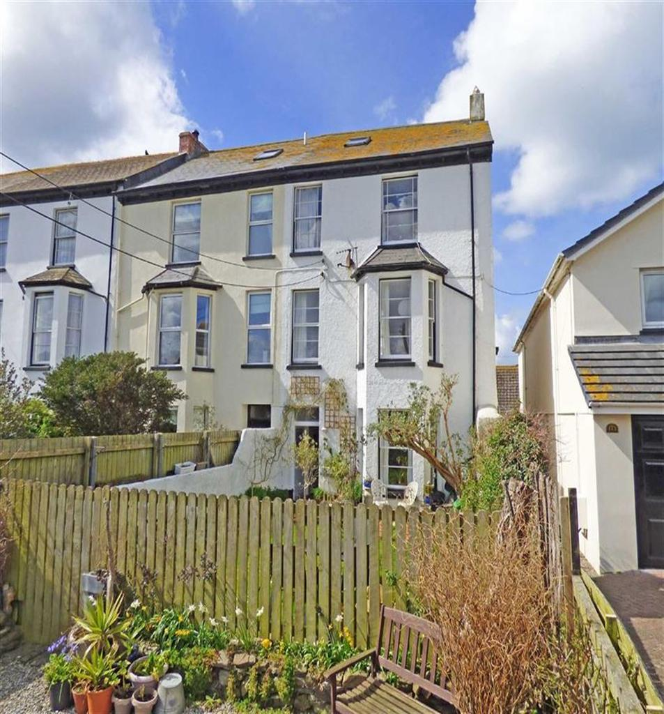6 Bedrooms Semi Detached House for sale in Eastbourne Terrace, Westward Ho!, Stunning Sea Views, Bideford, Devon, EX39
