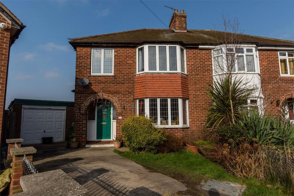 3 Bedrooms Semi Detached House for sale in Briar Avenue, Acomb, YORK