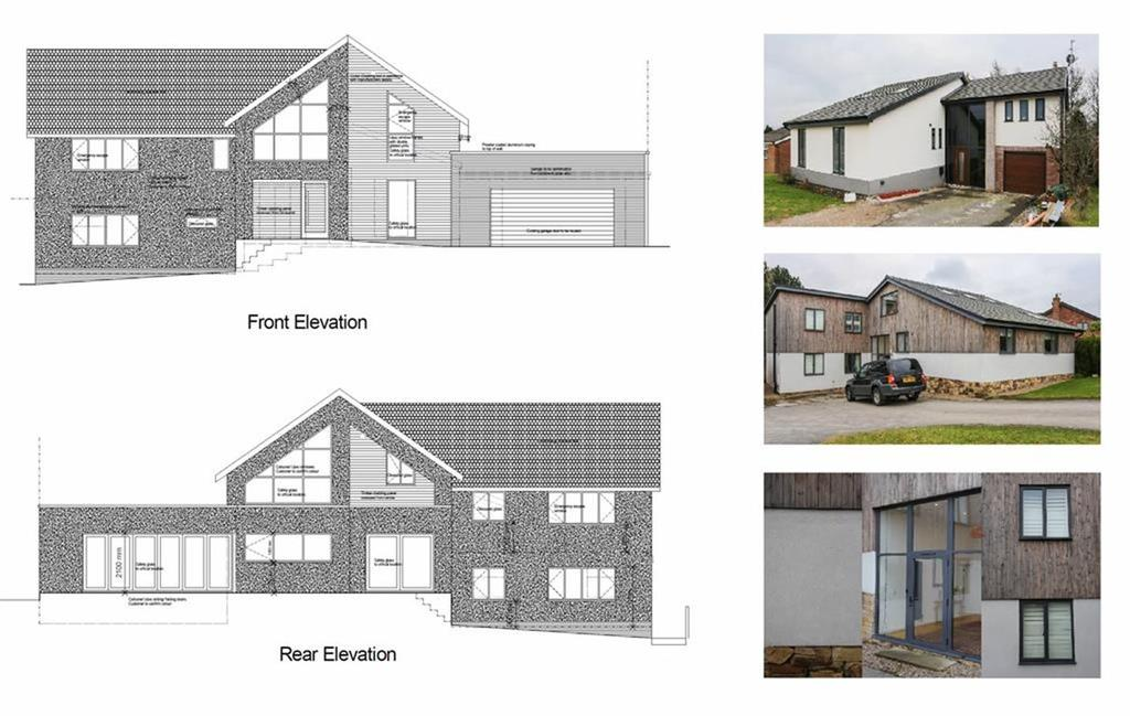 3 Bedrooms Detached House for sale in Lymewood Drive, Disley, Cheshire