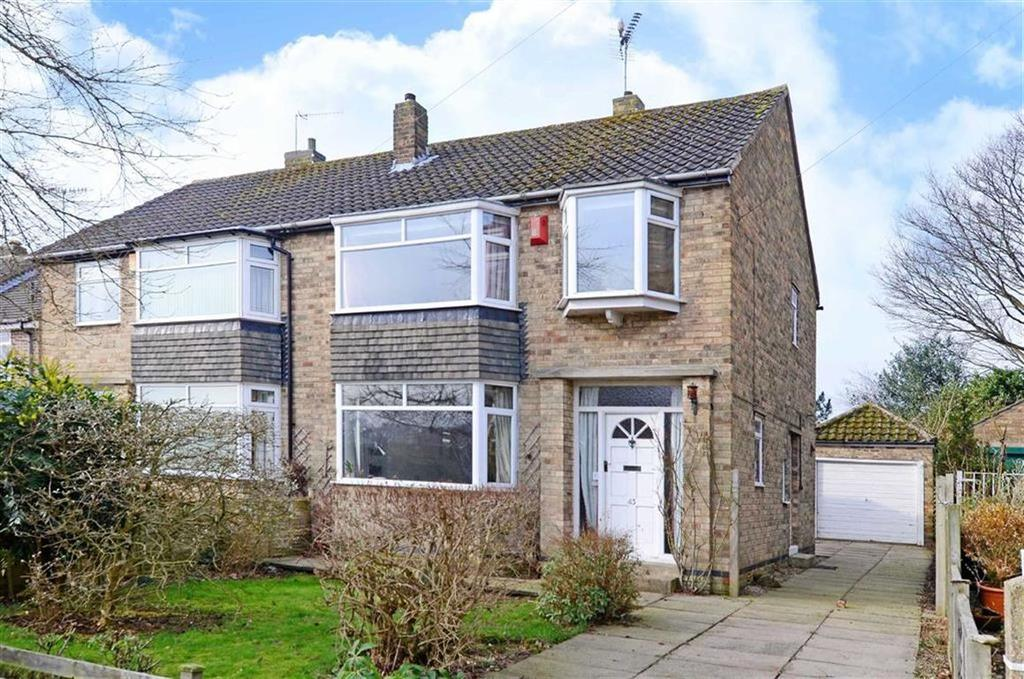 3 Bedrooms Semi Detached House for sale in 43, Wollaton Avenue, Bradway, Sheffield, S17