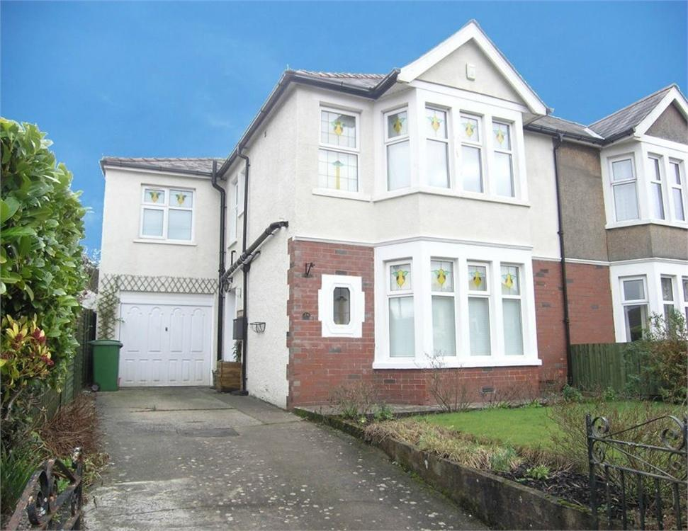 4 Bedrooms Semi Detached House for sale in Blackoak Road, Cyncoed, Cardiff