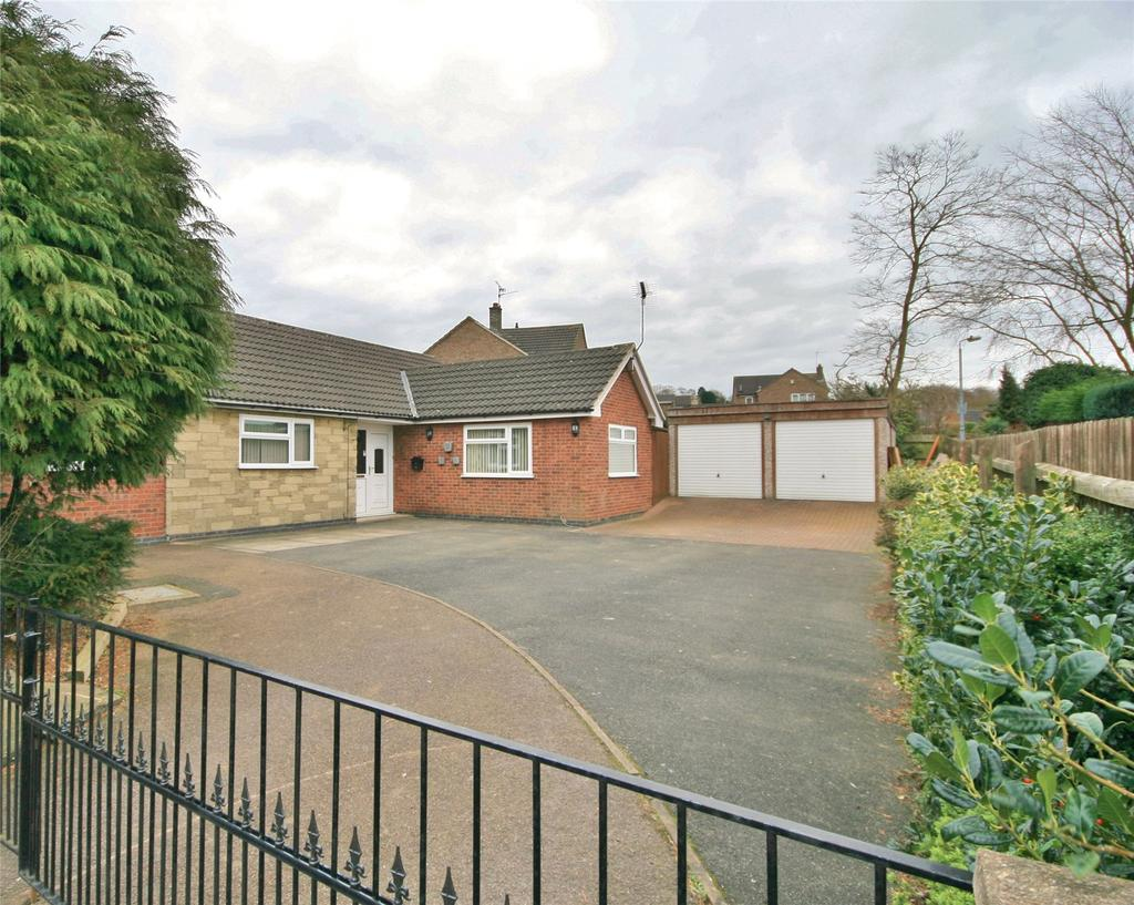3 Bedrooms Detached Bungalow for sale in Wardour Drive, Grantham, NG31