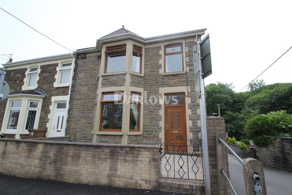 3 Bedrooms End Of Terrace House for sale in Park Road, Bargoed