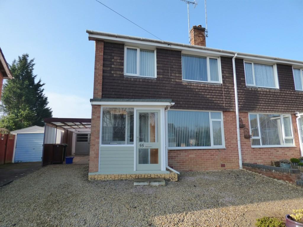 3 Bedrooms Semi Detached House for sale in Nursery Drive, Banbury