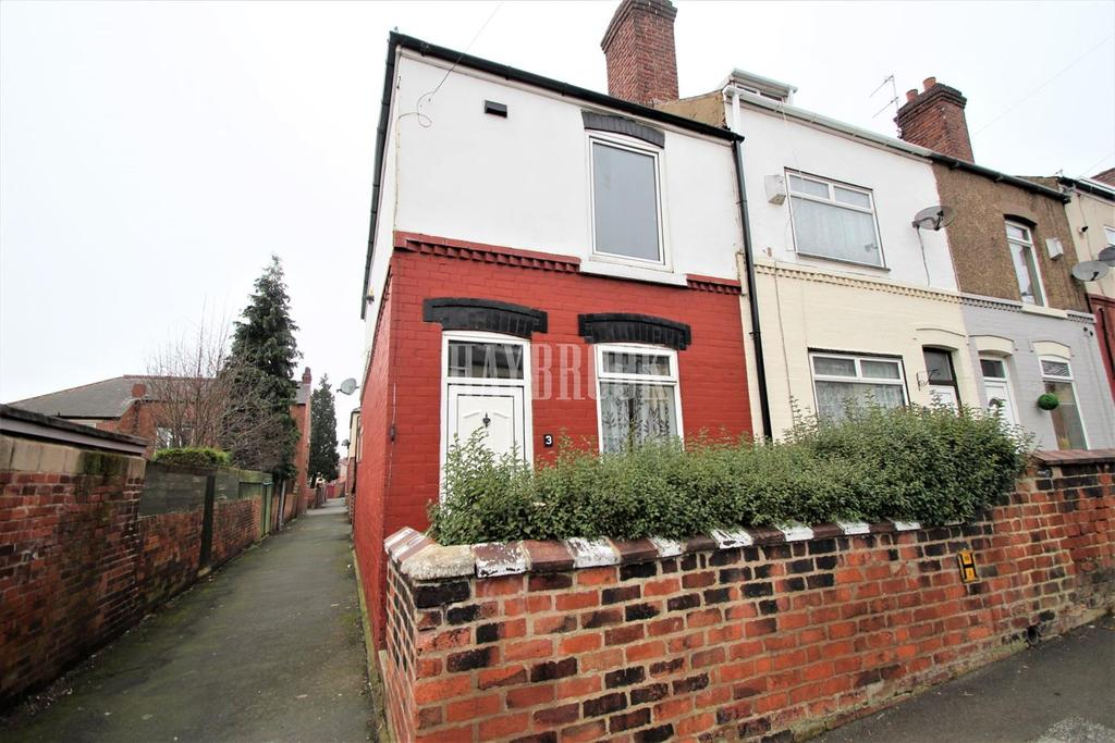 2 Bedrooms End Of Terrace House for sale in Princess Road, Goldthorpe